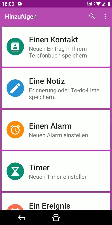 Schritt 2: Tippe auf Einen Alarm