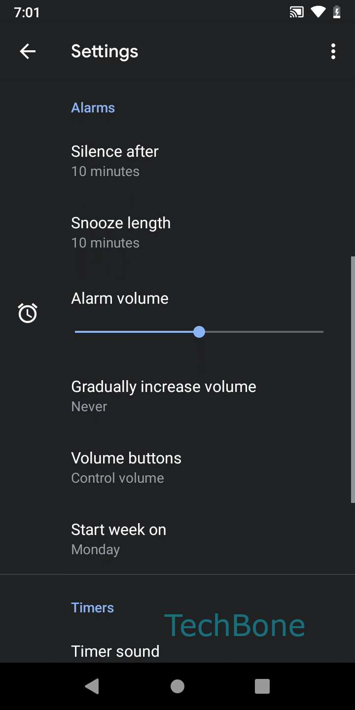 Step 4: Tap on Volume buttons