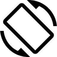 Android Symbol - Bildschirm Auto-Rotation