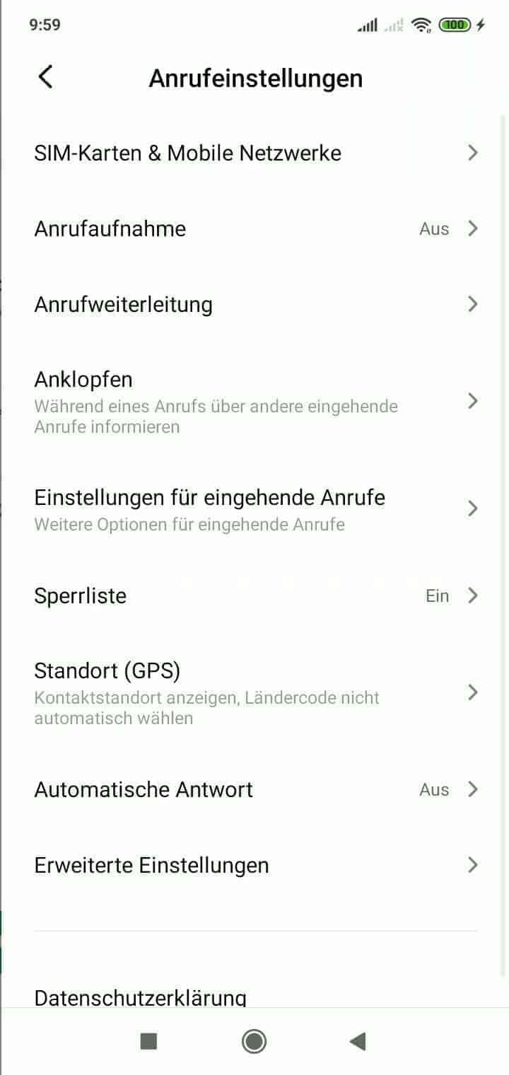 Schritt 3: Tippe auf SIM-Karten & Mobile Netzwerke