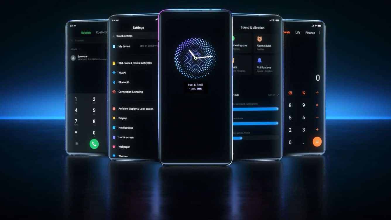 Xiaomi-Smartphones mit Always On Display (MIUI 11)