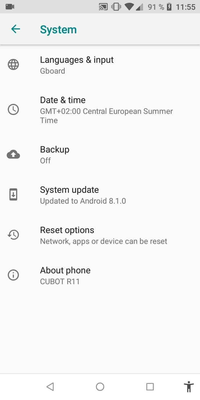 Developer options - Android 8 | TechBone