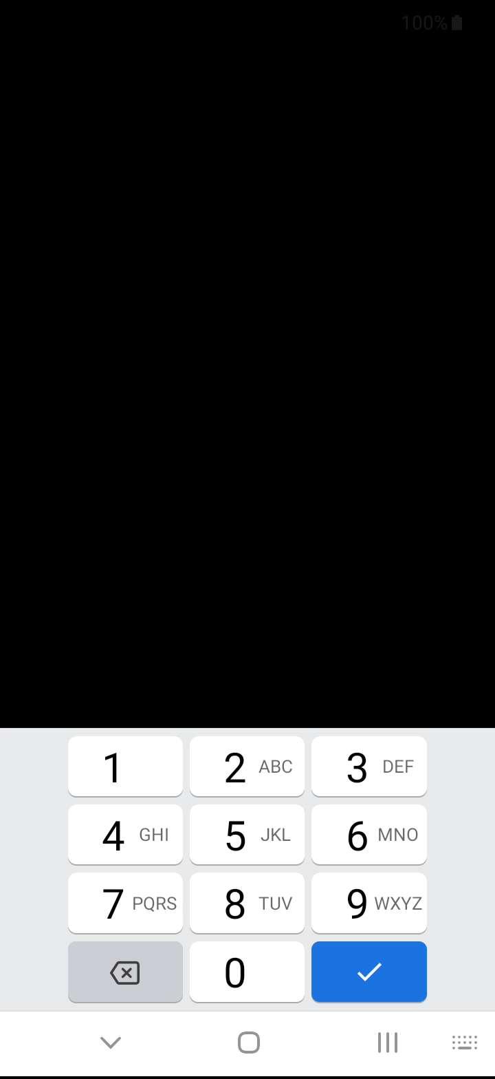 Schritt 5: Gebe gegebenenfalls den PIN/Passwort/Muster der Displaysperre ein