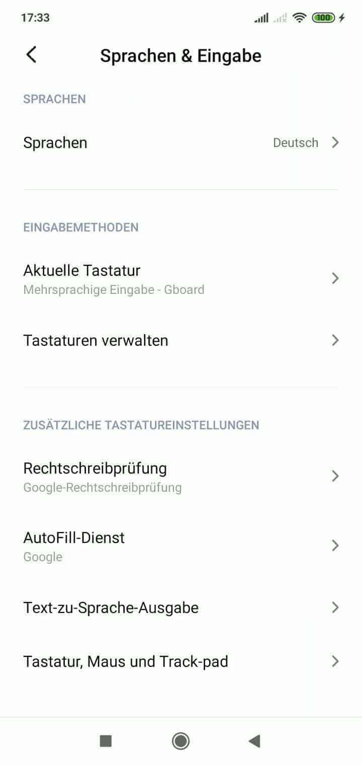 Android Vibrationsstärke Einstellen