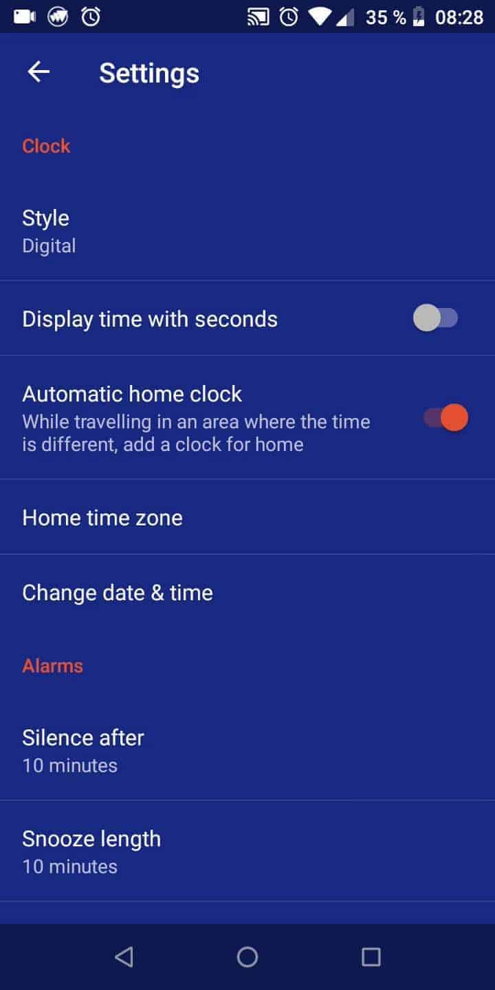 Step 4: Tap on Silence after