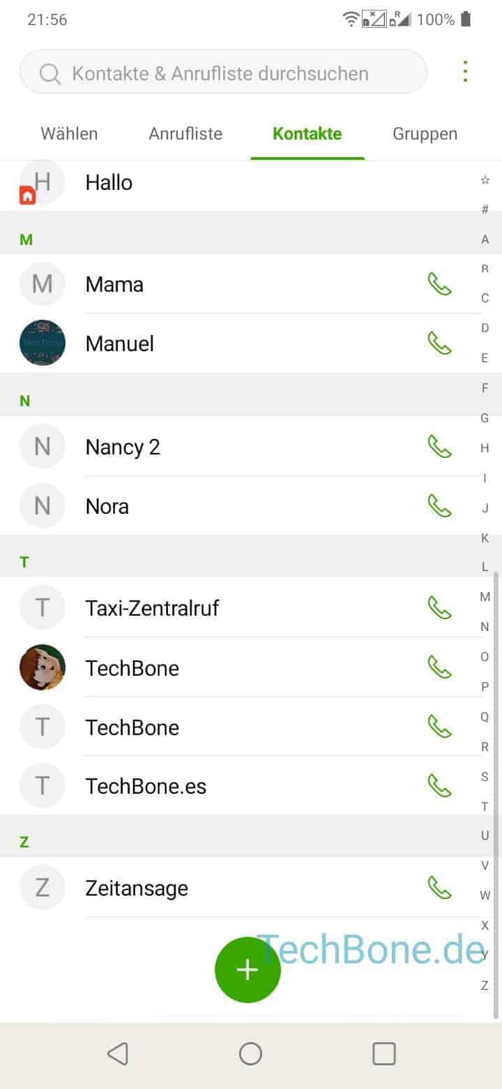 Kontakt Aus Messenger Löschen