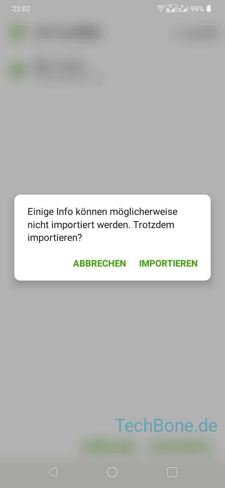 alexa kontakte importieren