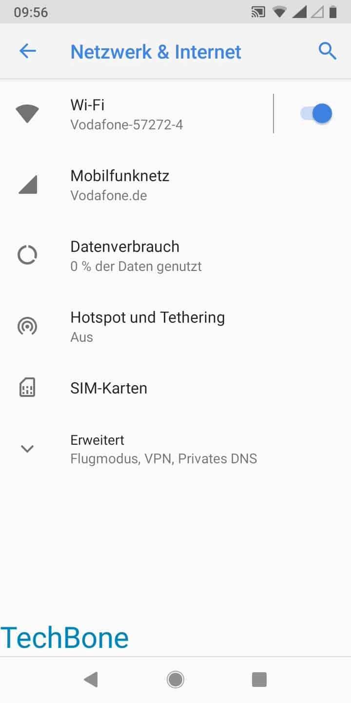 Schritt 3: Tippe auf Mobilfunknetz
