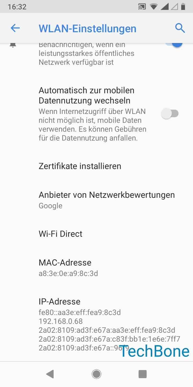 Schritt 6: Tippe auf Wi-Fi Direct
