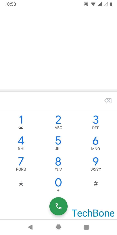 Schritt 3: Gib eine Telefonnummer ein