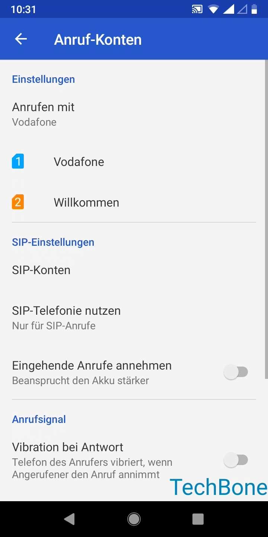 Schritt 5: Wähle eine SIM-Karte