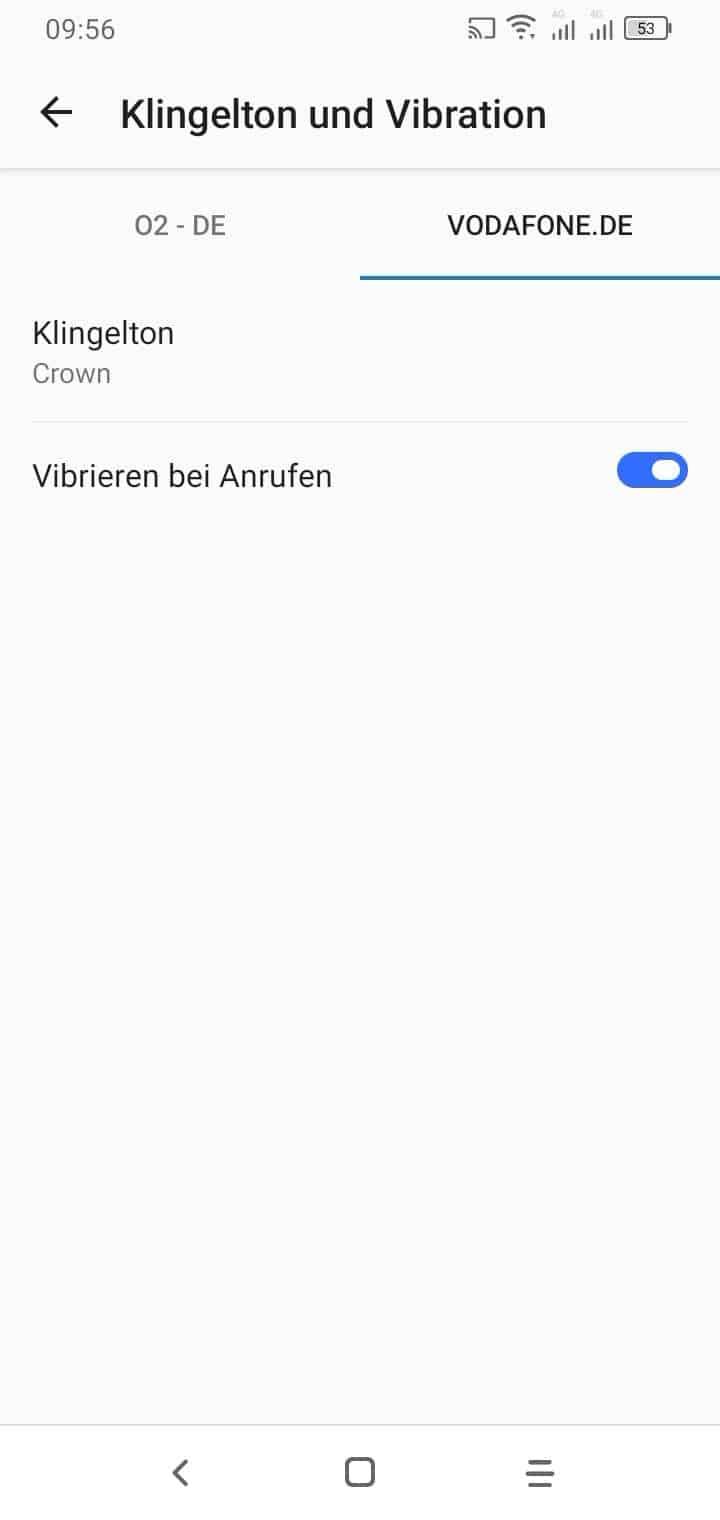 Vodafone Anruf