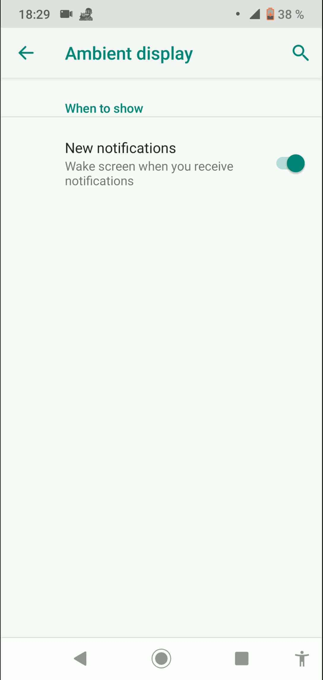 Step 5: Activate or deactivate New notifications