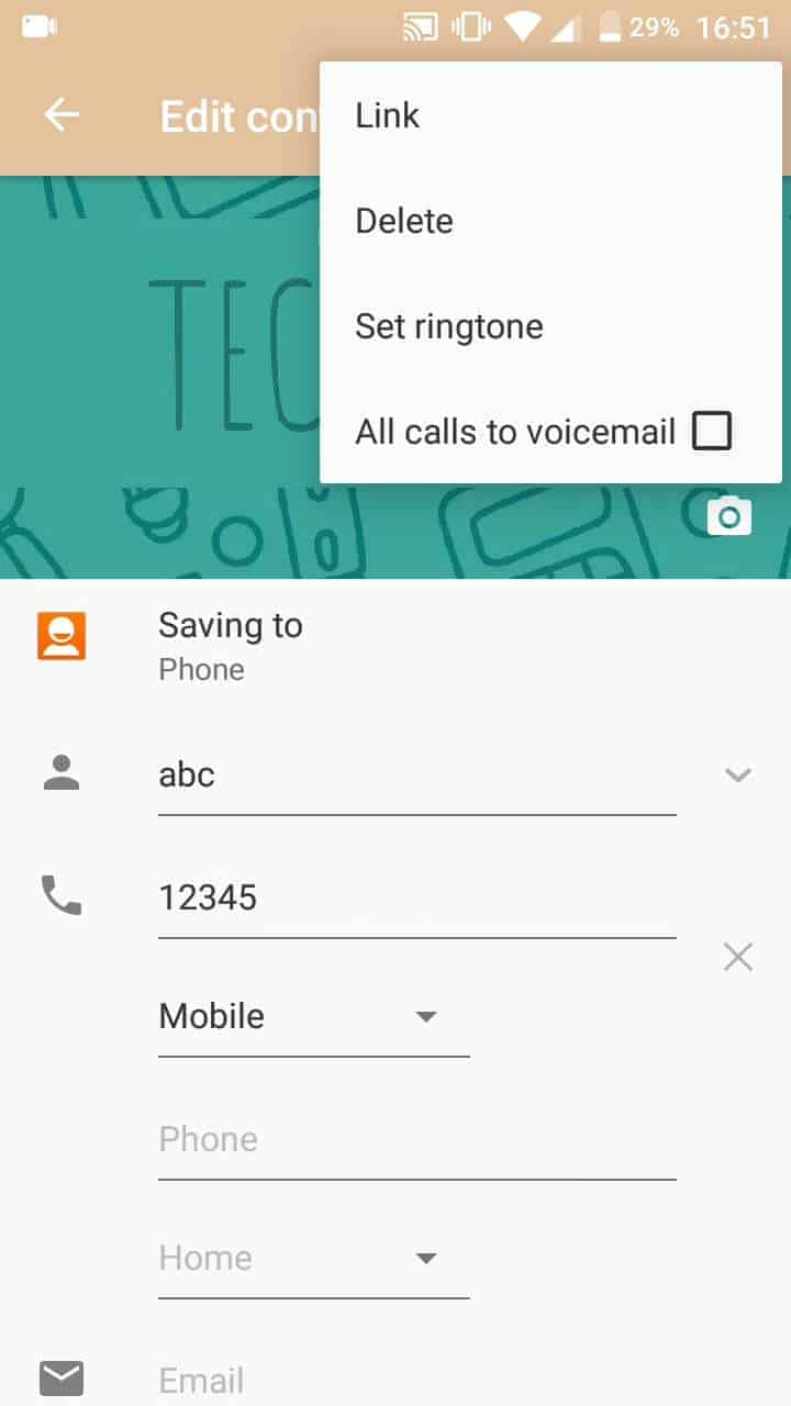 Step 5: Check mark All calls to voicemails