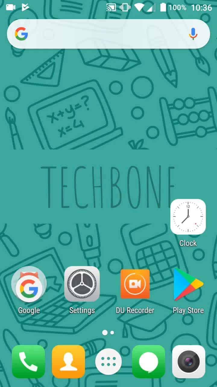 Step 1: Tap on the Clock app