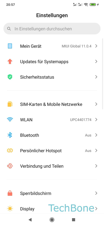 Fotos Auf Sd Karte In Galerie Xiaomi Redmi Note 8 Pro Techbone