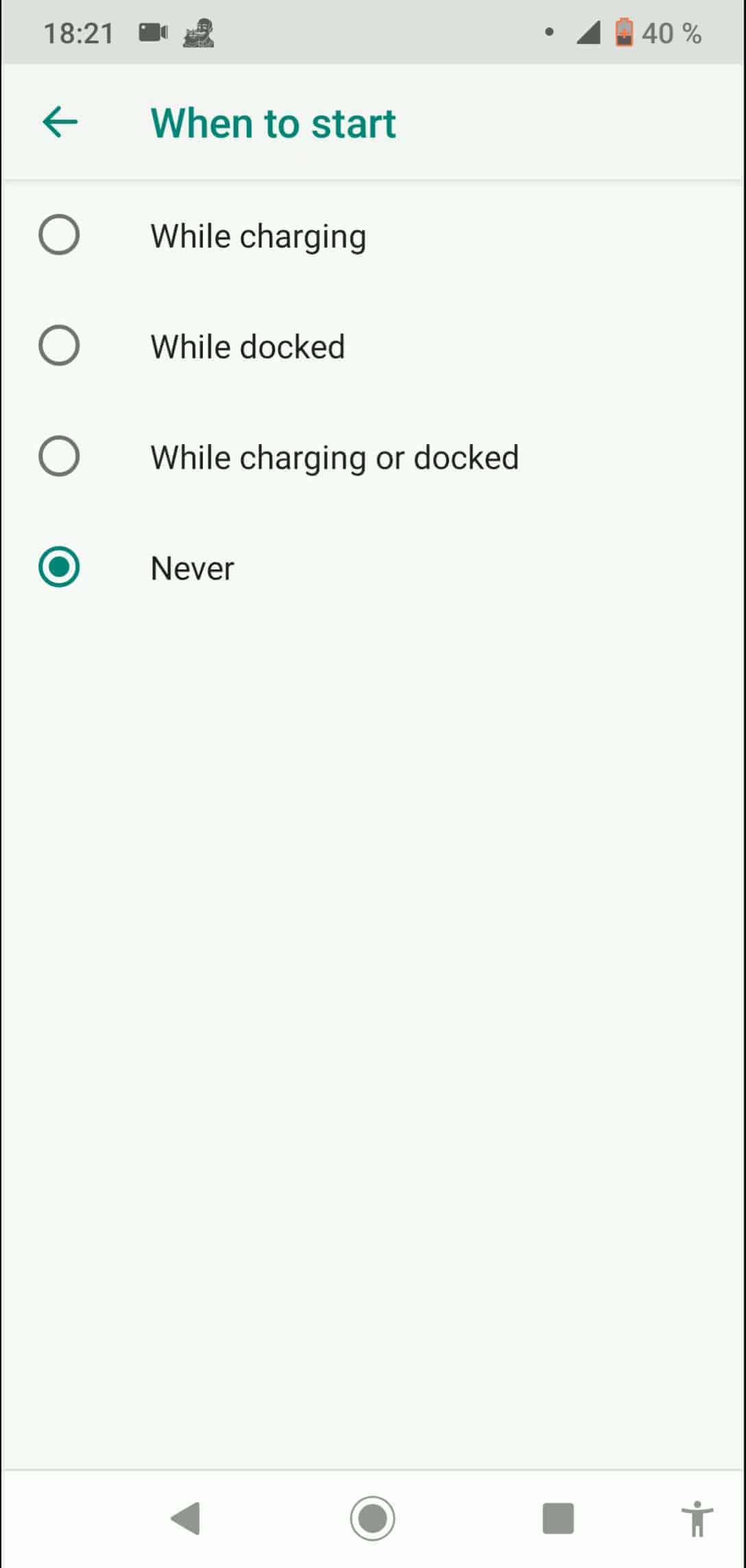 Step 6: Choose an option