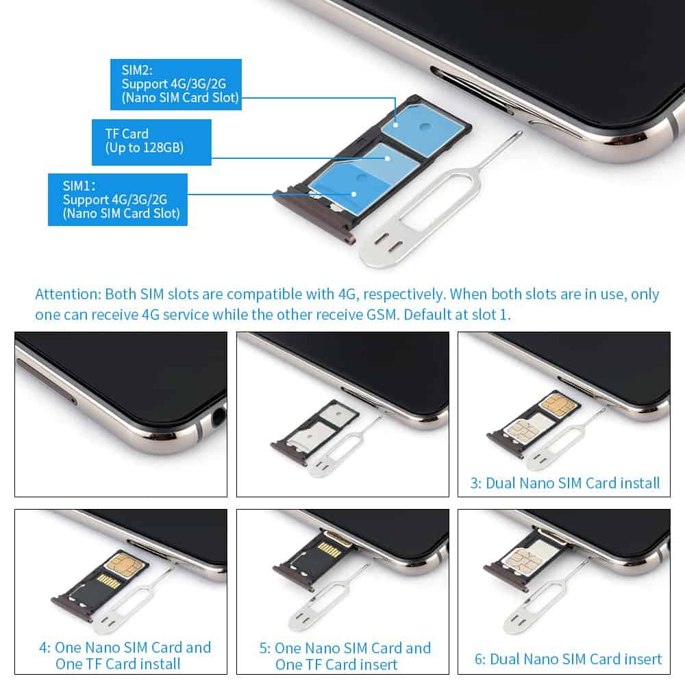 Huawei P Smart 2019 Sim Karte Einlegen.Sim Karte Und Micro Sd Karte Einlegen Elephone A4 Techbone