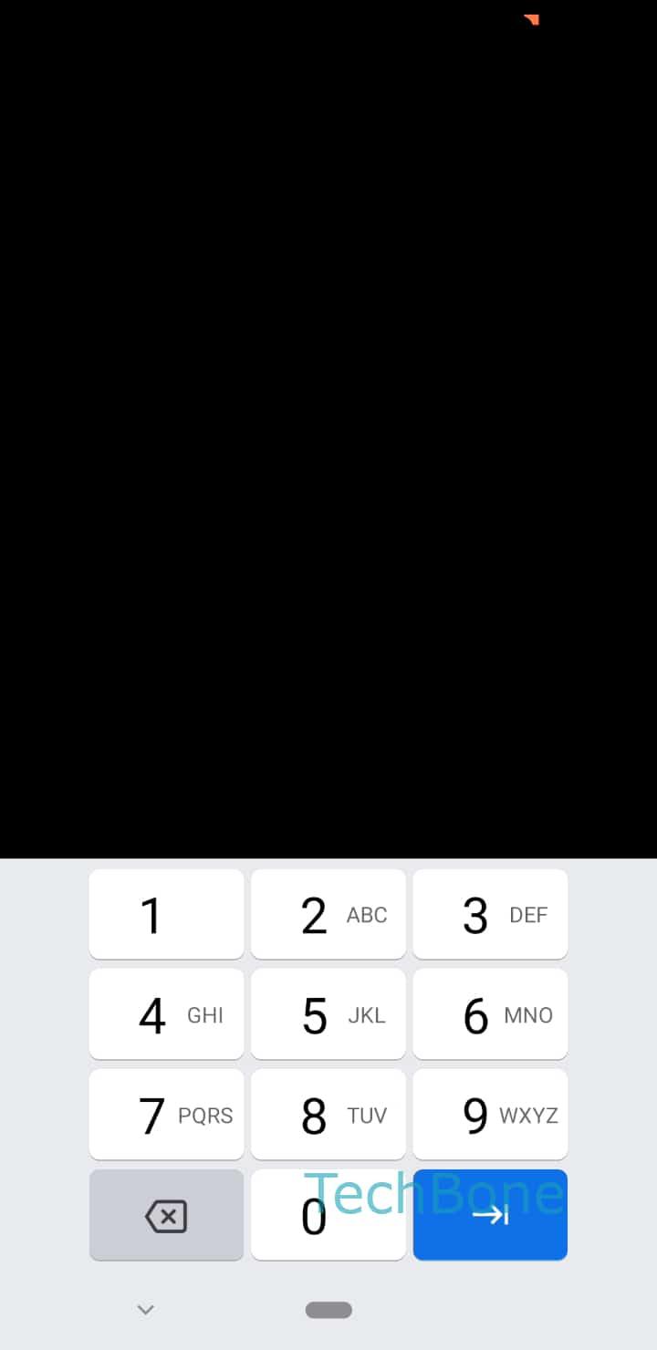 Schritt 4: Gebe das Muster/Passwort/PIN ein