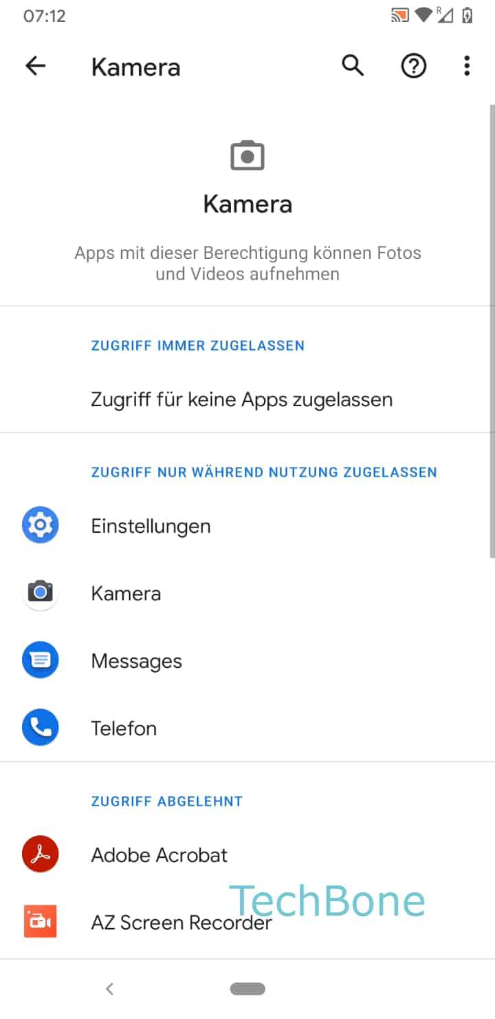 Schritt 6: Wähle die gewünschte App