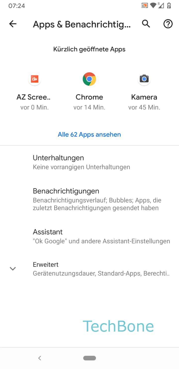 Schritt 3: Tippe auf Alle Apps ansehen