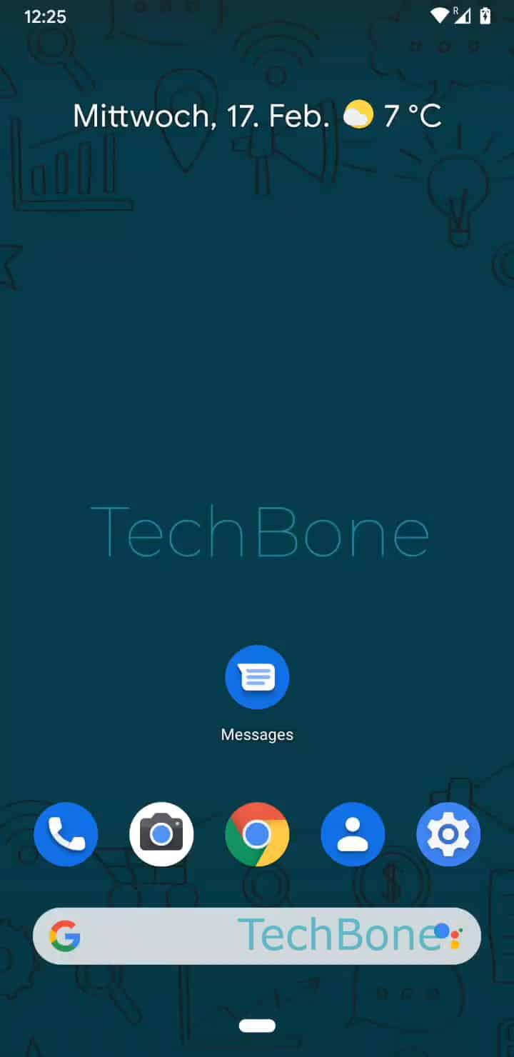 Schritt 1: Öffne die Messages-App