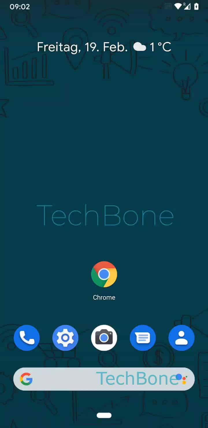 Schritt 1: Öffne den Chrome-Browser