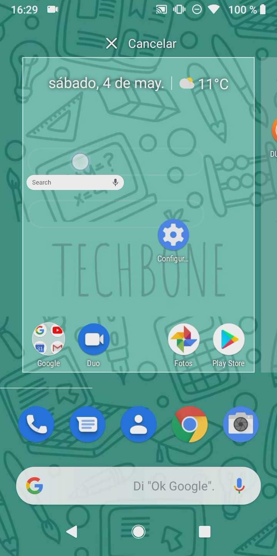 Paso 4: añade el Widget a la pantalla principal