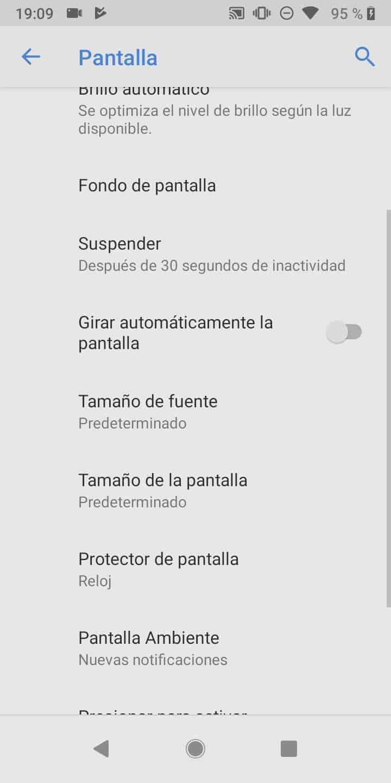 Paso 4: presiona Protector de pantalla