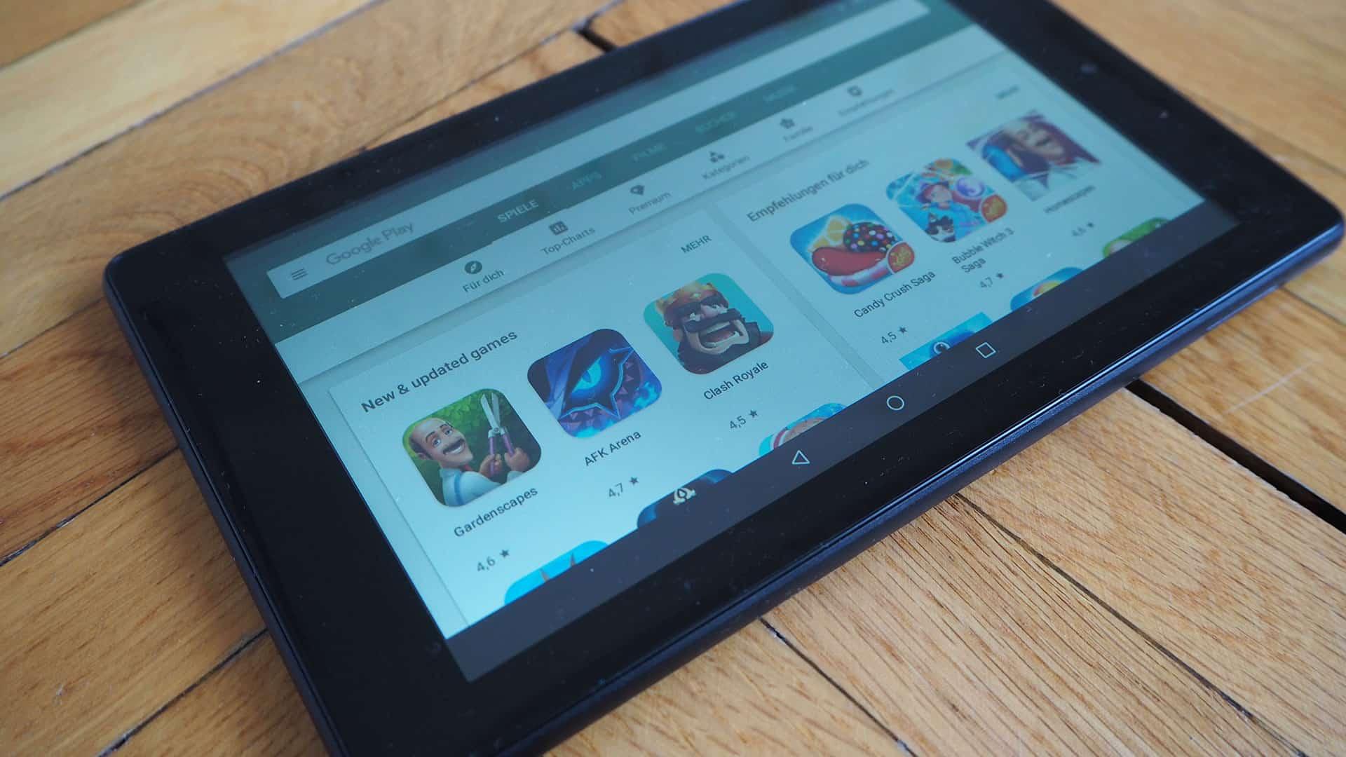 Play Store auf dem Amazon Fire-Tablet installieren - So geht