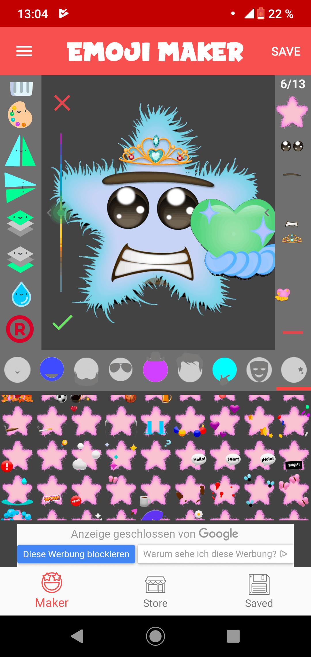 Ooops, hier sollte ein unglaublich tolles Seestern Emoji zu sehen sein. Schade!