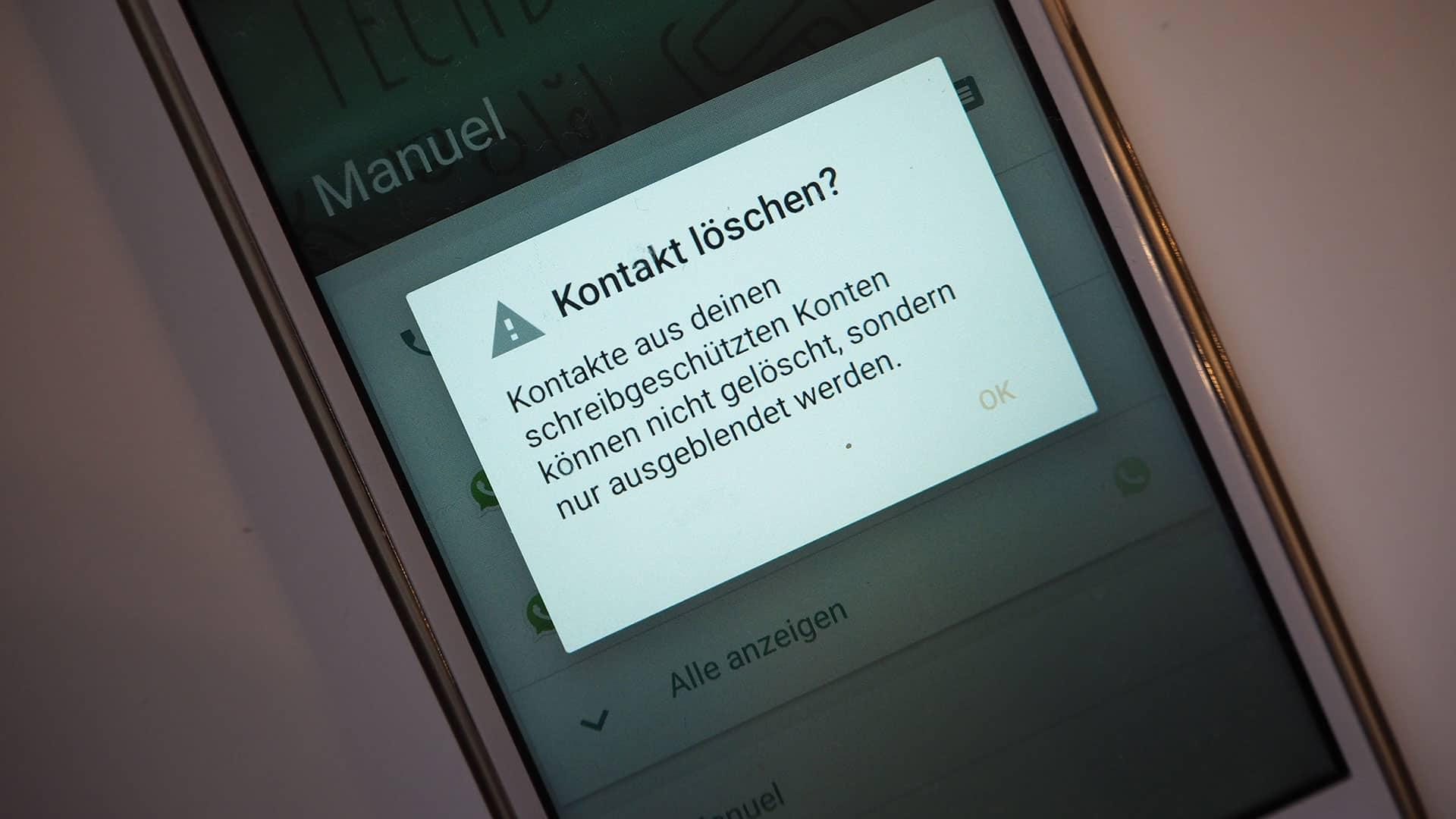 Wie Lösche Ich Whatsapp Kontakt Whatsapp Blockierte