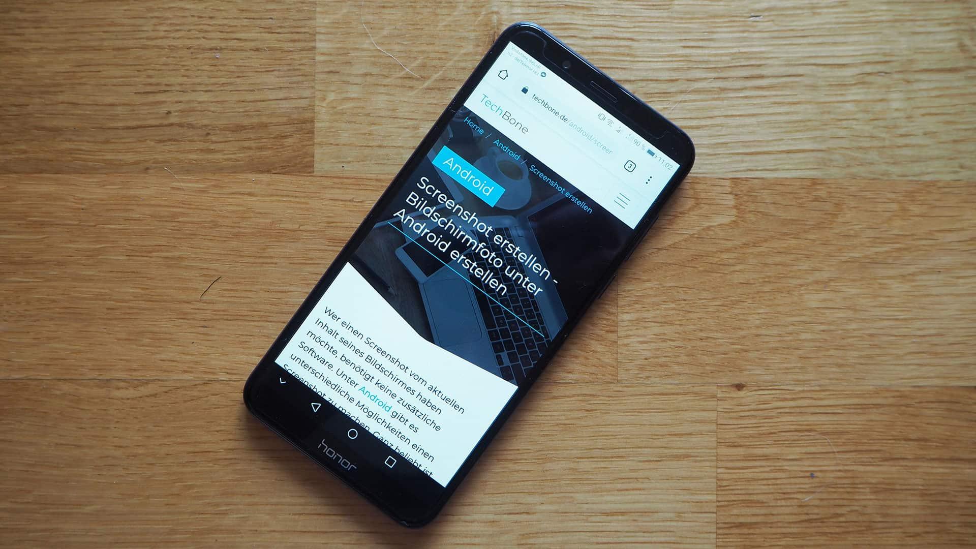 Screenshot erstellen - Bildschirmfoto unter Android erstellen