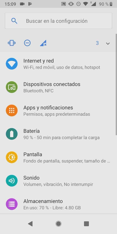 Paso 2: presiona Apps y notificaciones