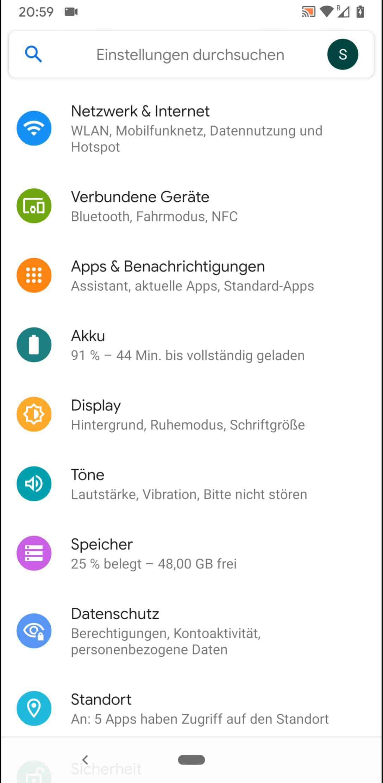 Schritt 2: Tippe auf Apps & Benachrichtigungen