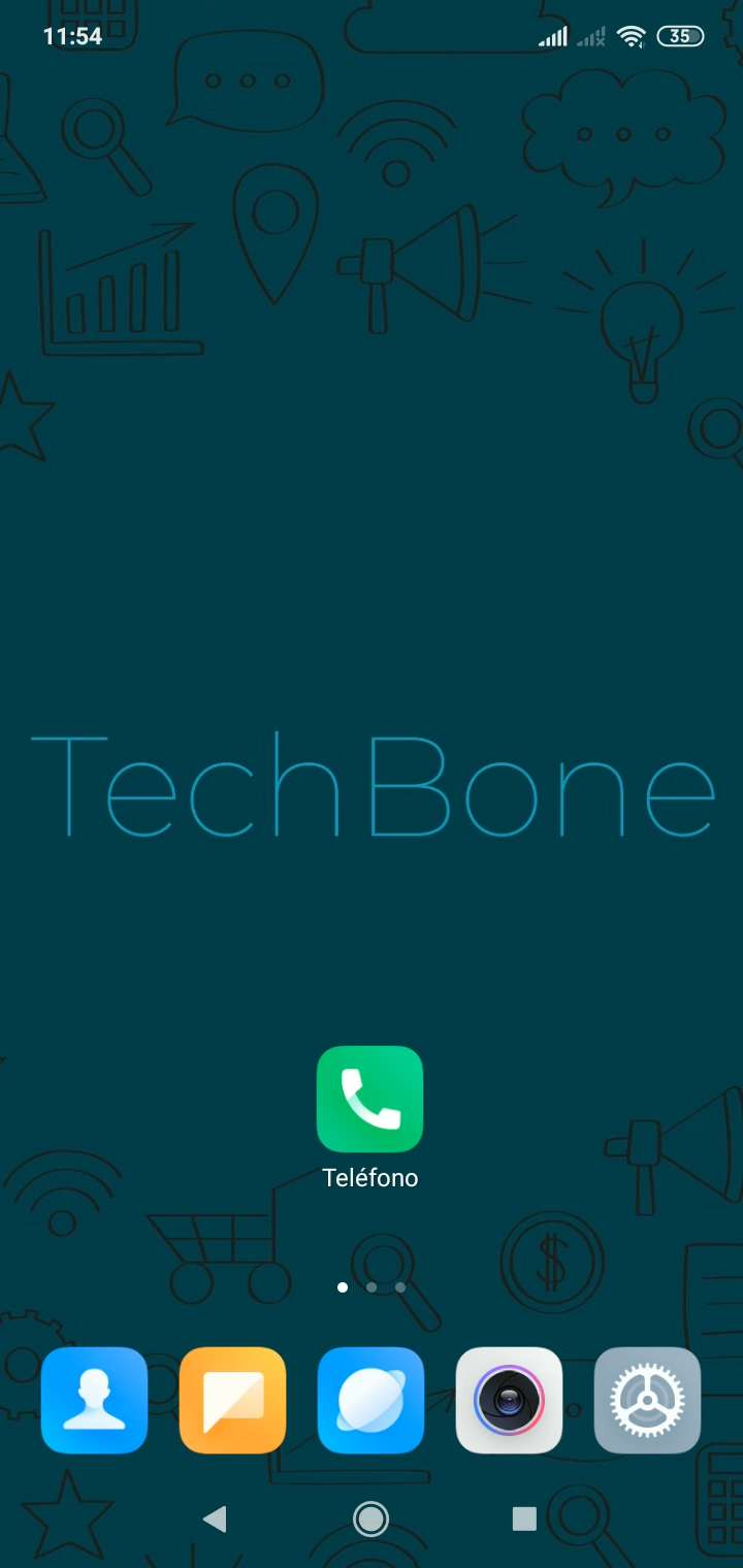 Paso 1: Abre Teléfono