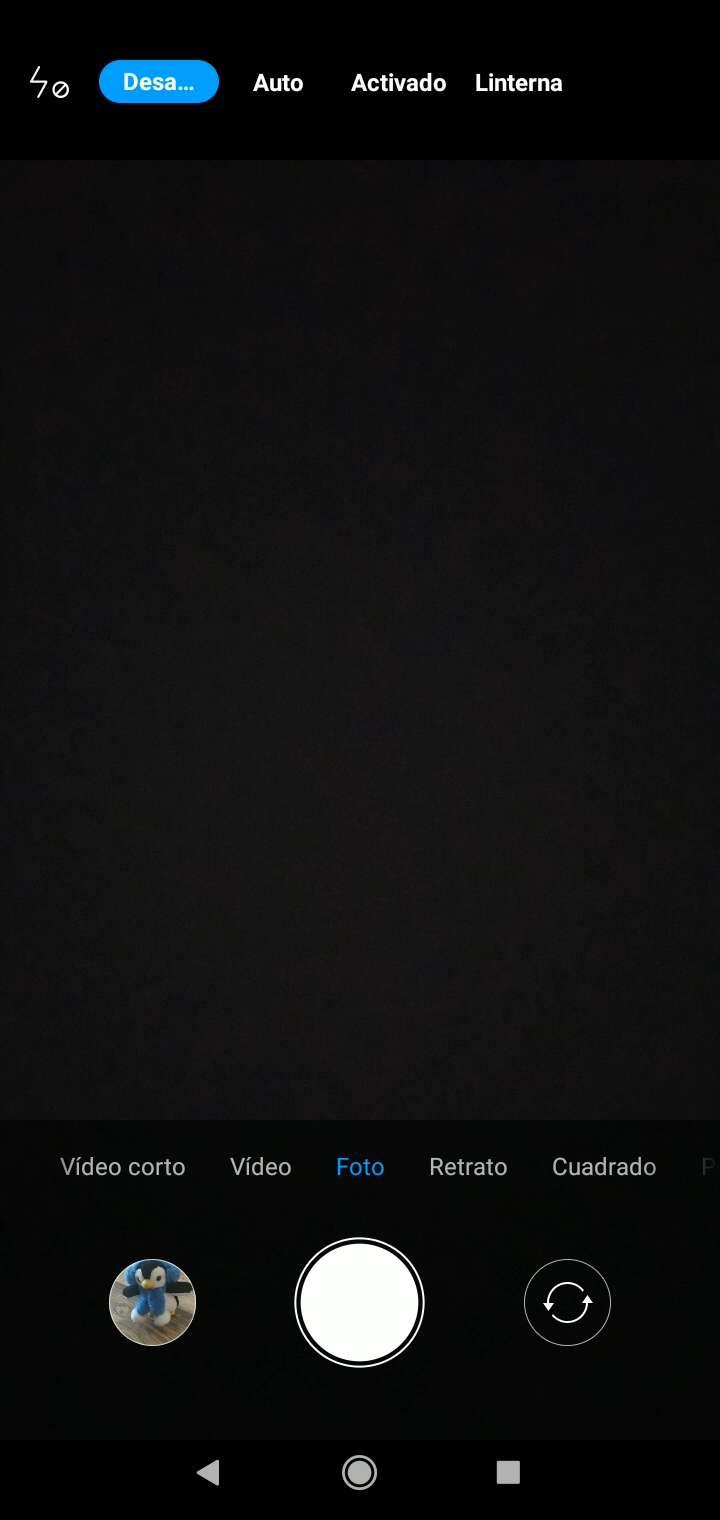 Activar o desactivar Flash de la cámara - Xiaomi Manual ...