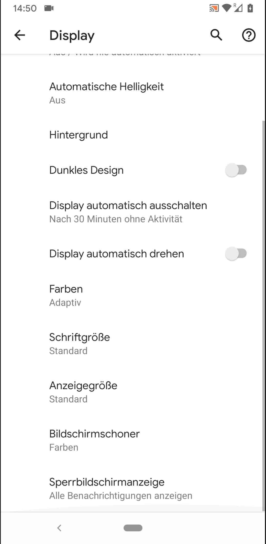 Schritt 4: Tippe auf Bildschirmschoner