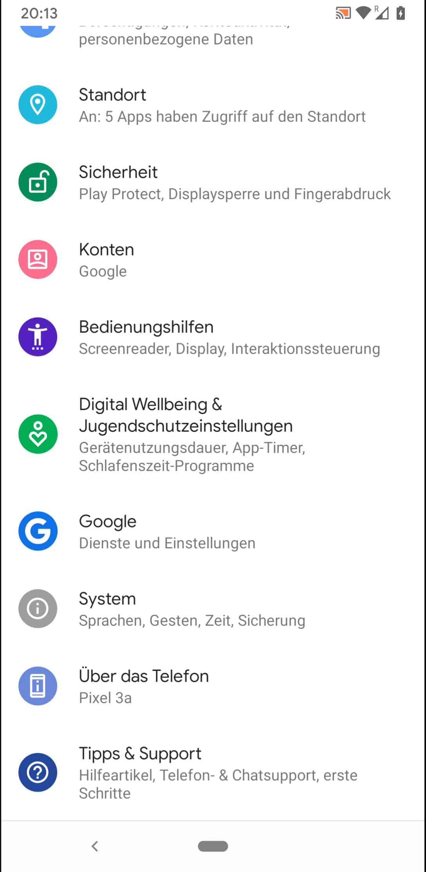 Android Spracheingabe