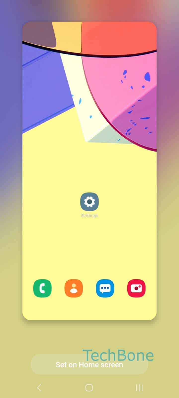 How to Change Wallpaper on Home Screen - Samsung Manual ...