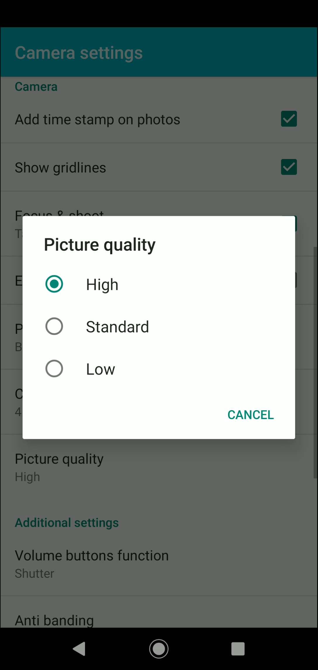Step 5: Choose an option