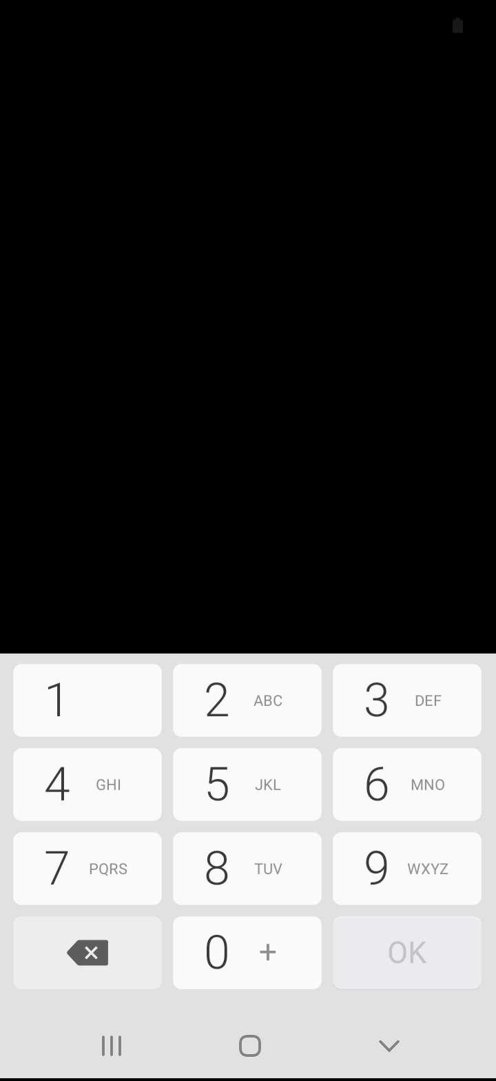 Schritt 5: Gebe gegebenenfalls den aktuellen PIN/Passwort/Muster ein