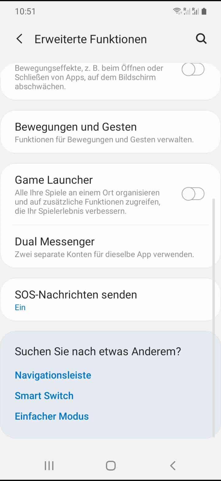 Schritt 3: Tippe auf Dual Messenger