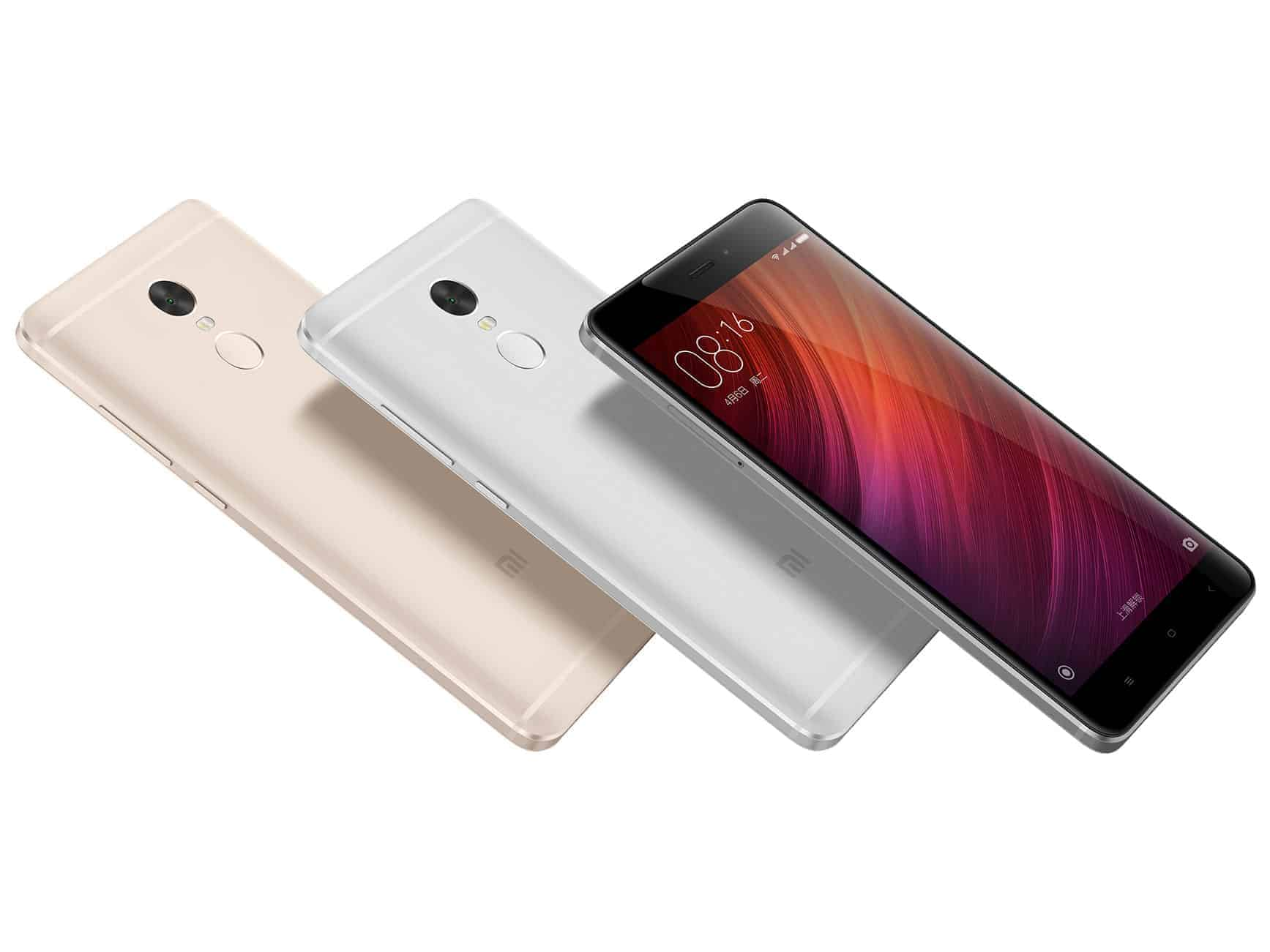Xiaomi Redmi Note 4 Colors