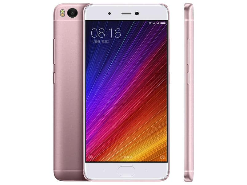 Xiaomi Mi5s Pink