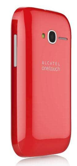 Das Alcatel OneTouch Pop Fit verfügt auf der Rückseite über eine 2 Megapixel-Kamera.