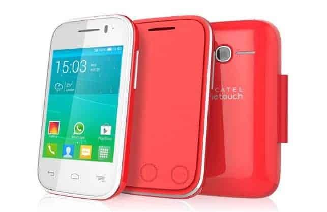 Das günstige Einsteiger-Smartphone Alcatel OneTouch Pop Fit.