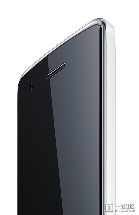 Das OnePlus One von der seite.