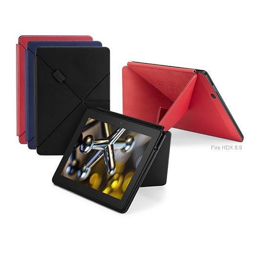 Das Amazon Fire HDX 8.9 mit einem exklusiven Origami Case.