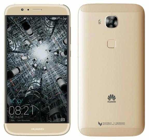 Huawei G8 Vorder- und Rückseite